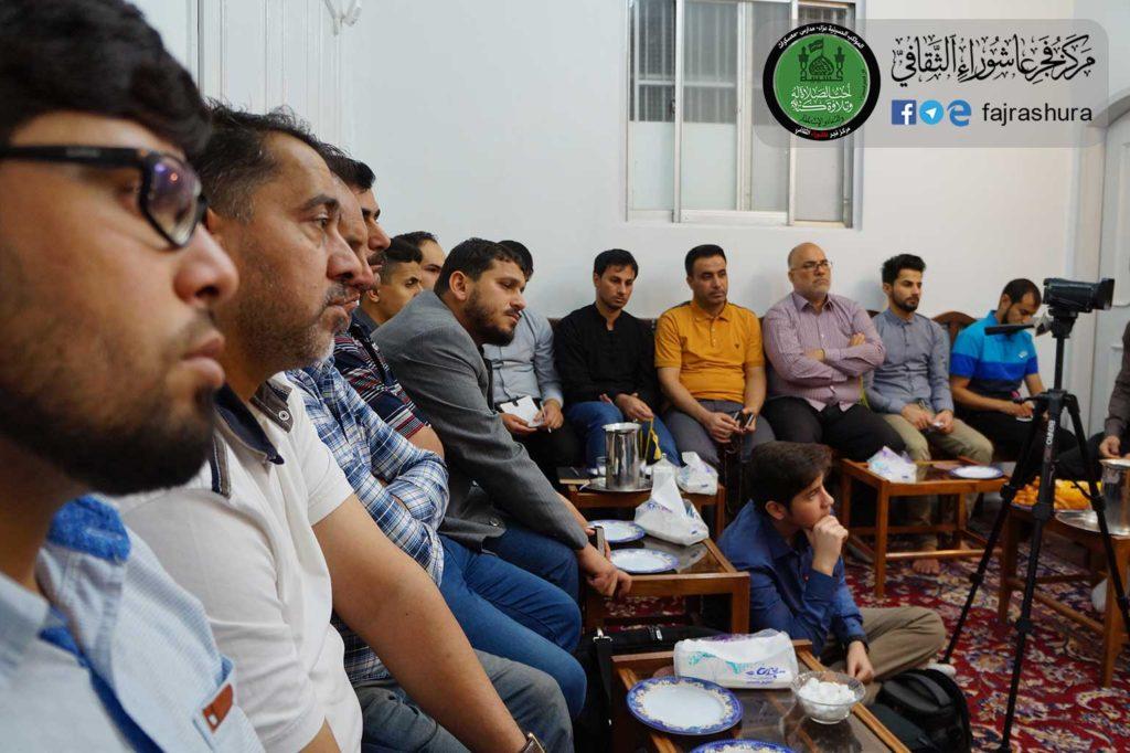 زيارة مجموعة من الطلاب الجامعيين العراقيين لآية الله السيد ...